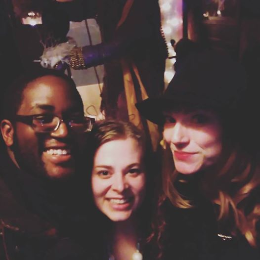 With Jay Aquarious and Erica Wolfling