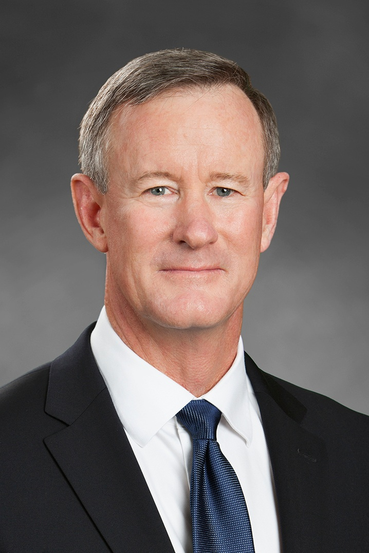 ADM. WILLIAM H. MCRAVEN   Four-Star Admiral (Ret.) United States Navy
