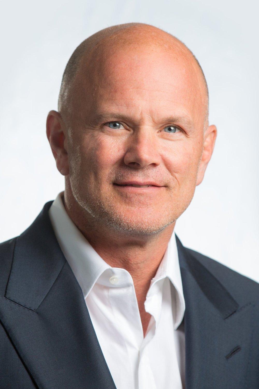 MICHAEL NOVOGRATZ  Founder, CEO Galaxy Digital