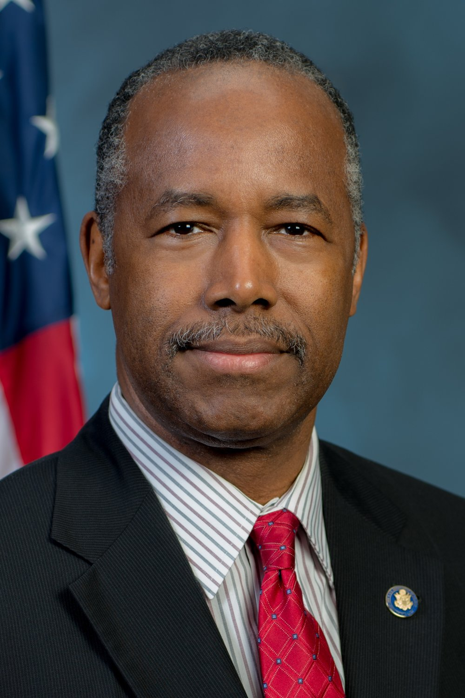 BENJAMIN S. CARSON, SR, M.D.   Secretary of the U.S. Department of Housing and Urban Development