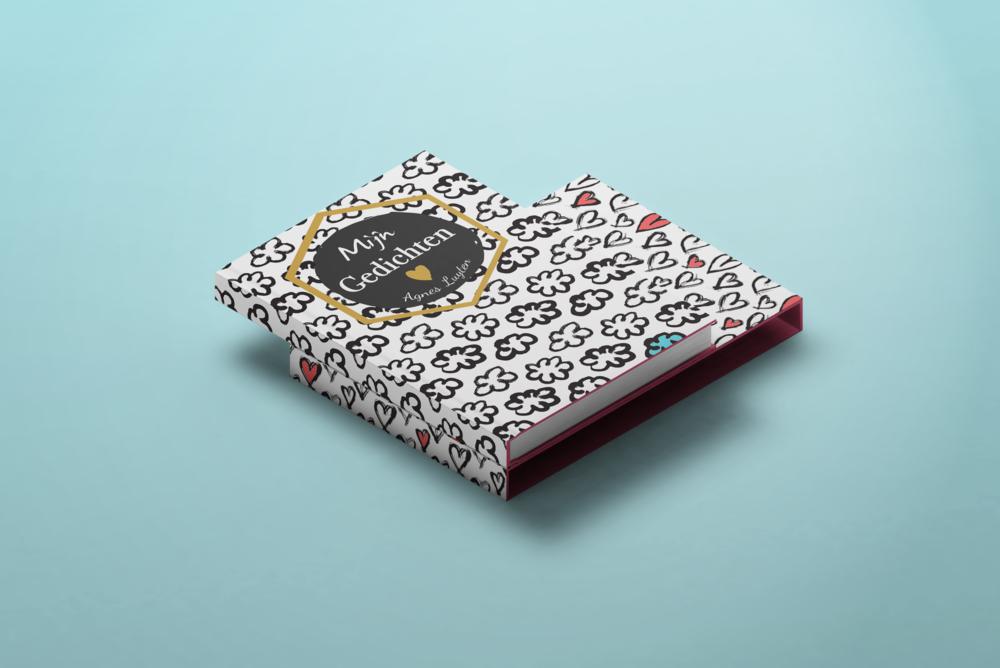 Agnes Poems book design - Eva B.