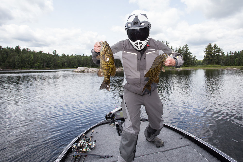 What Does Fishing Have to do With Motorcycle Touring? - Click on image to read at Northern Ontario Travel