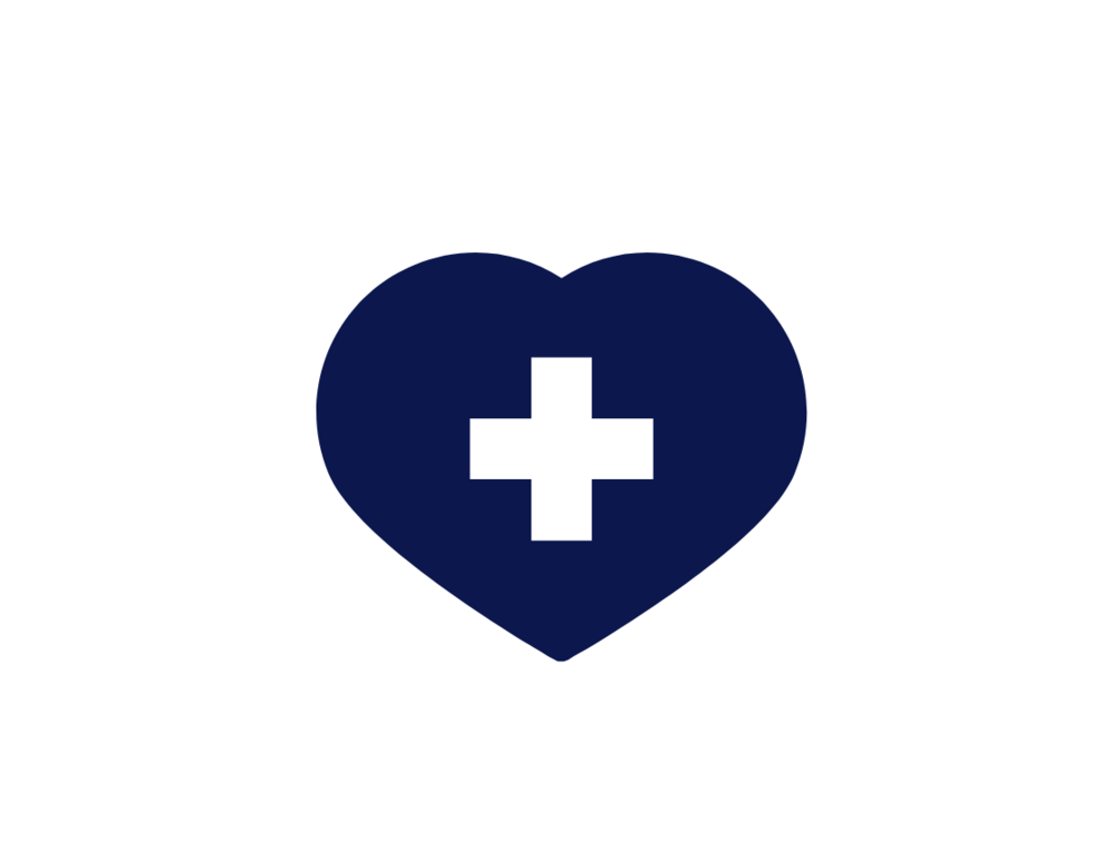 Heart With A Cross At The Center
