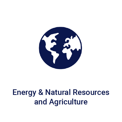 Energy & Natural Resources and Agriculture