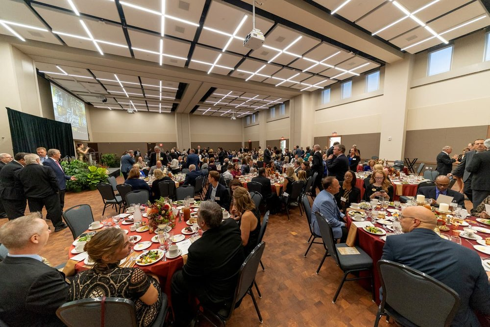 Crowd of attendees at Oakland University Alumni Awards 2018