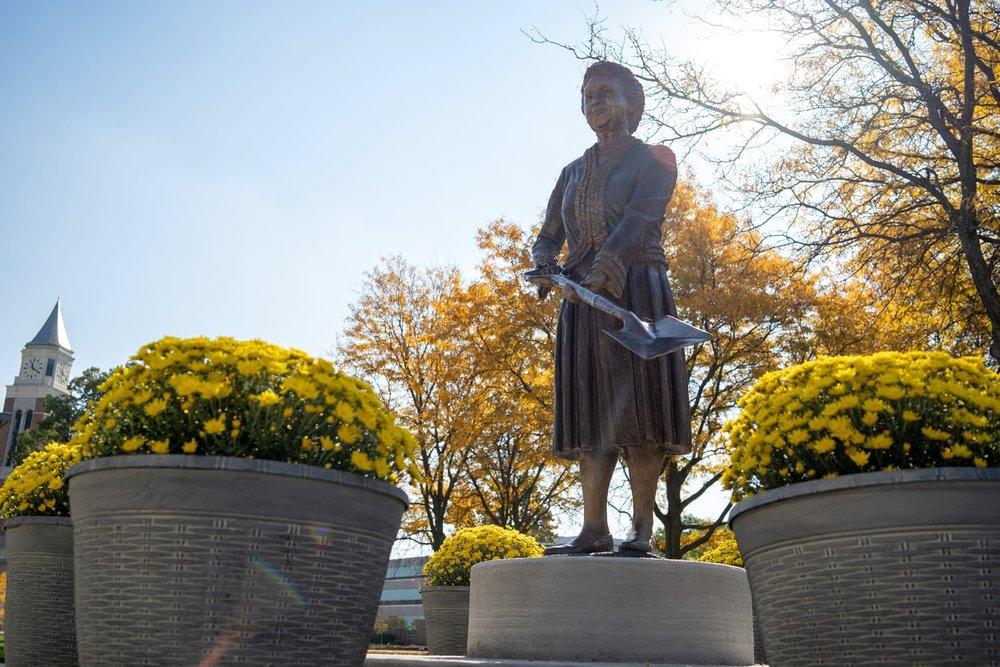 Matilda Wilson Statue