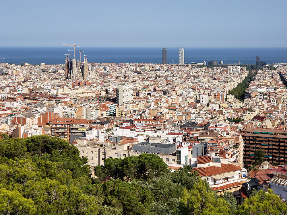 Barcelona, a city filled with wonders and a rich cultural landscape.