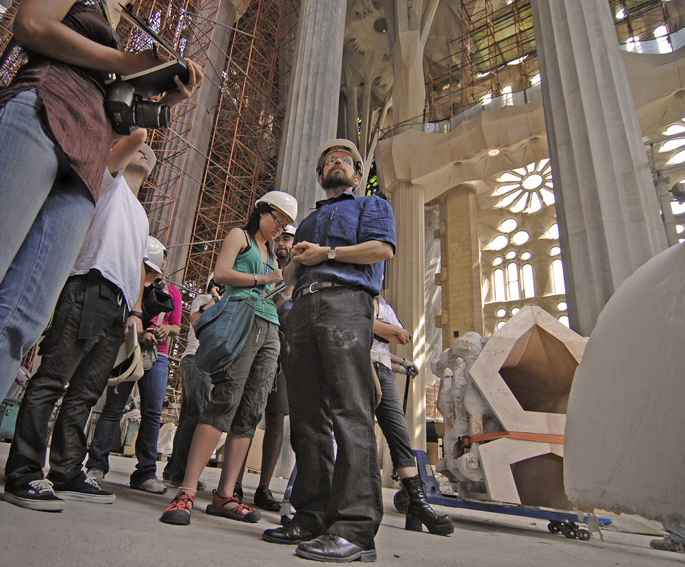 Sagrada Familia  Project Director Jordi Fauli will offer a private construction site visit to AIR. CAT  residents.