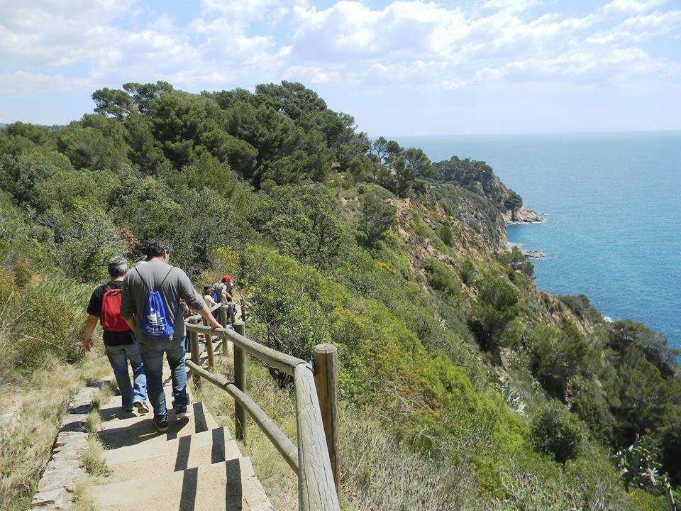 Hike South along the Camí de Ronda towards  Codolar  cove.