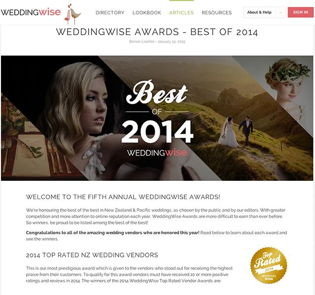 WeddingWise_awards