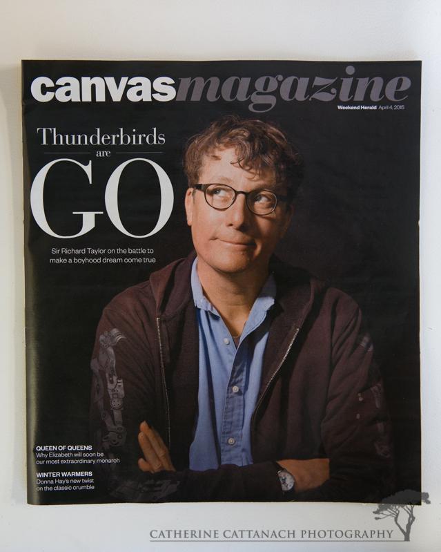 Sir Richard Taylor for Canvas magazine