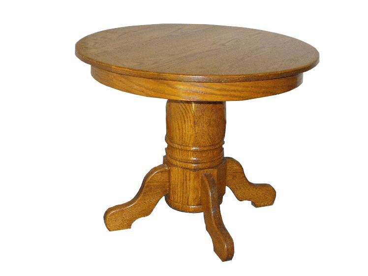 Before - The table looked similar to this…most every American family had one like this in the 80's, haha.