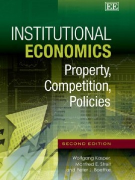 """The first edition of this book, published in 1999, has deeply influenced my thinking on some of the most complex economic questions of our time, and this revised and updated edition, released [in 2012], is already proving to be at least as intellectually engaging. Should economic thought continue its trajectory away from the excessively simplistic foundations of modern neoclassical economics, there will be little doubt that books such as Institutional Economics will be shown to have played a significant role in the revitalisation of economics."" -Julie Novak in  Institute of Public Affairs"