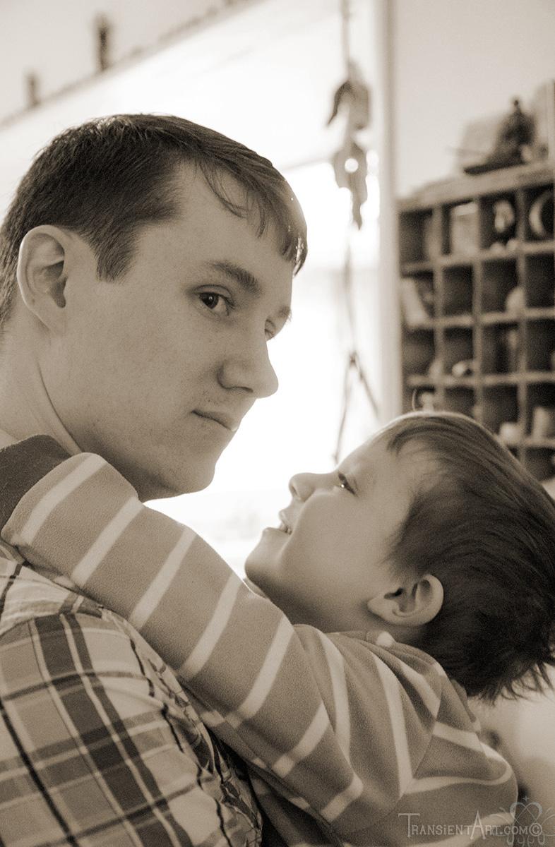 Jacob and Jonathan Christmas 2013