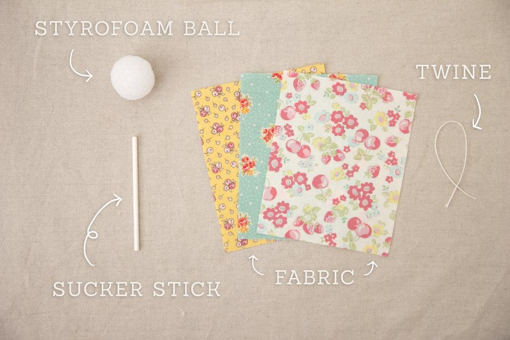 Sucker Ornament_Materials