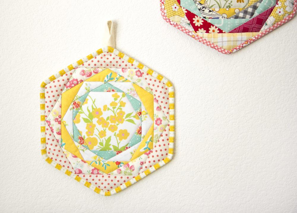 Hexagon Trivets16