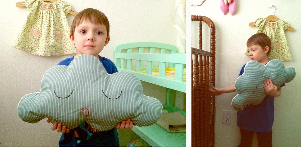 Jacob Cloud Pillow
