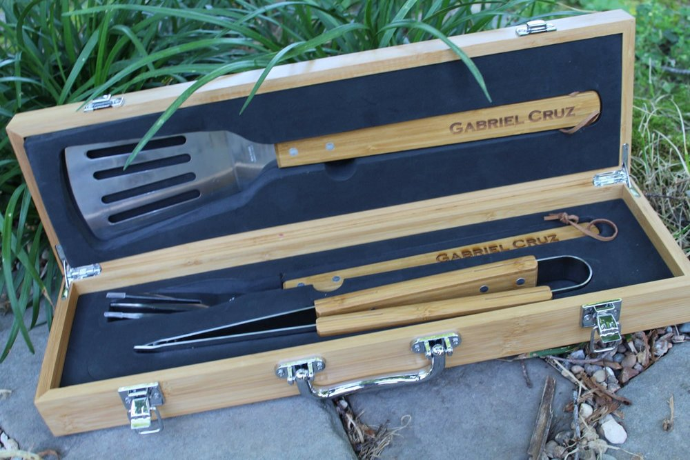 Personalized Grill Set - $15