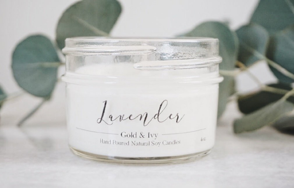 Lavender Soy Candle - $10