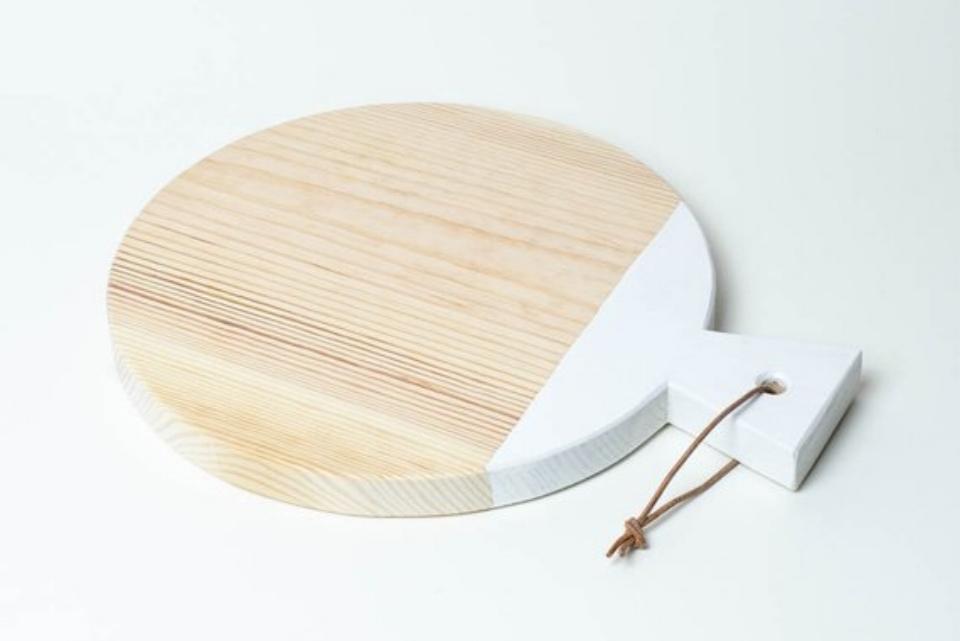 Minimal Wooden Cutting & Serving Board -$20