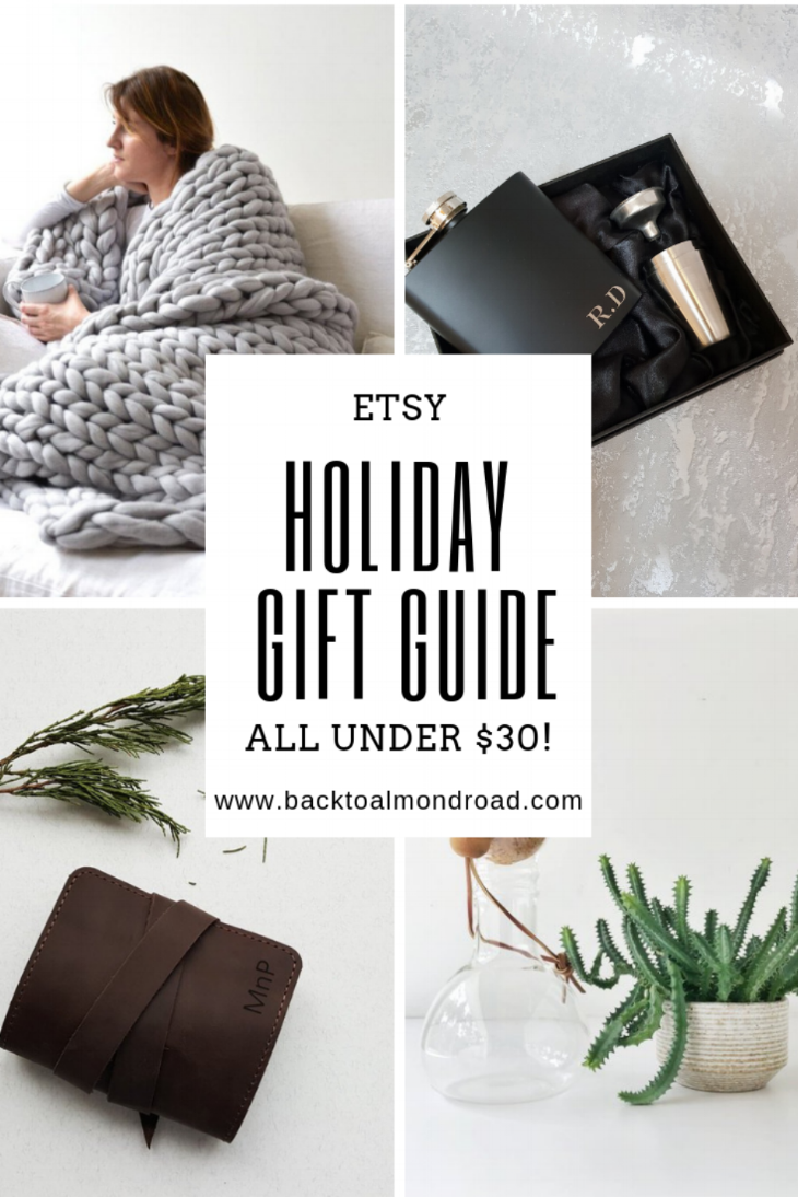 ETSY HOLIDAY GIFT GUIDE - WWW.BACKTOALMONDROAD.COM