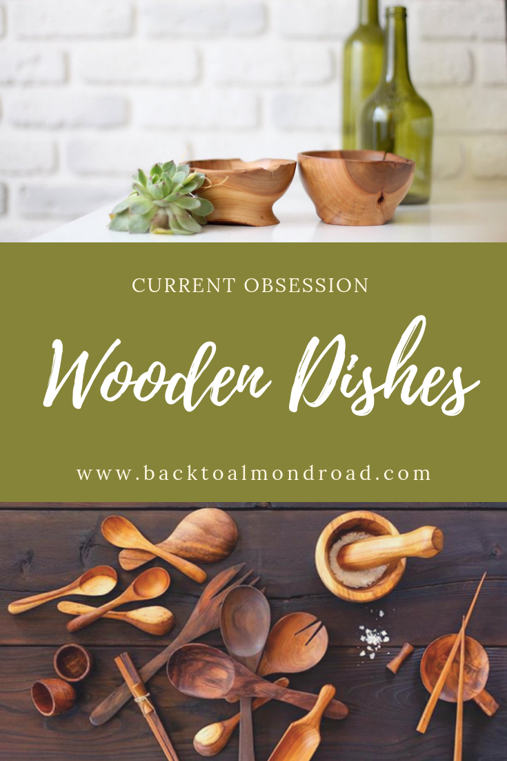 Wooden Dishes - Back To Almond Road
