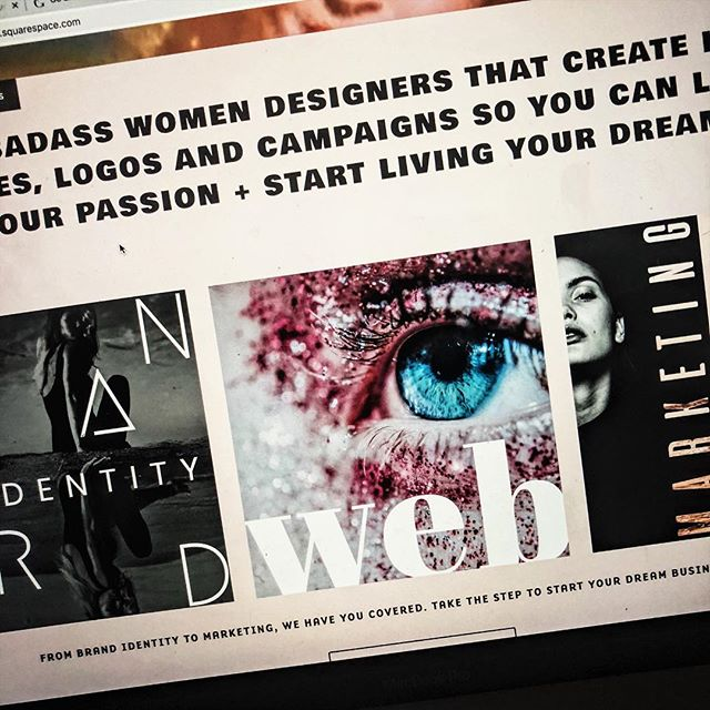 Our website is almost finished. We can't wait to share with you all the things that we can help you with. From logos to brand coaching and interior design. We have a group of hella talented women to slay your ideas.#webdesign #graphicdesign #womendesigners #womeninbusiness #badbitches #badbitchesonly #bossbabe #femaleentrepreneur #branding