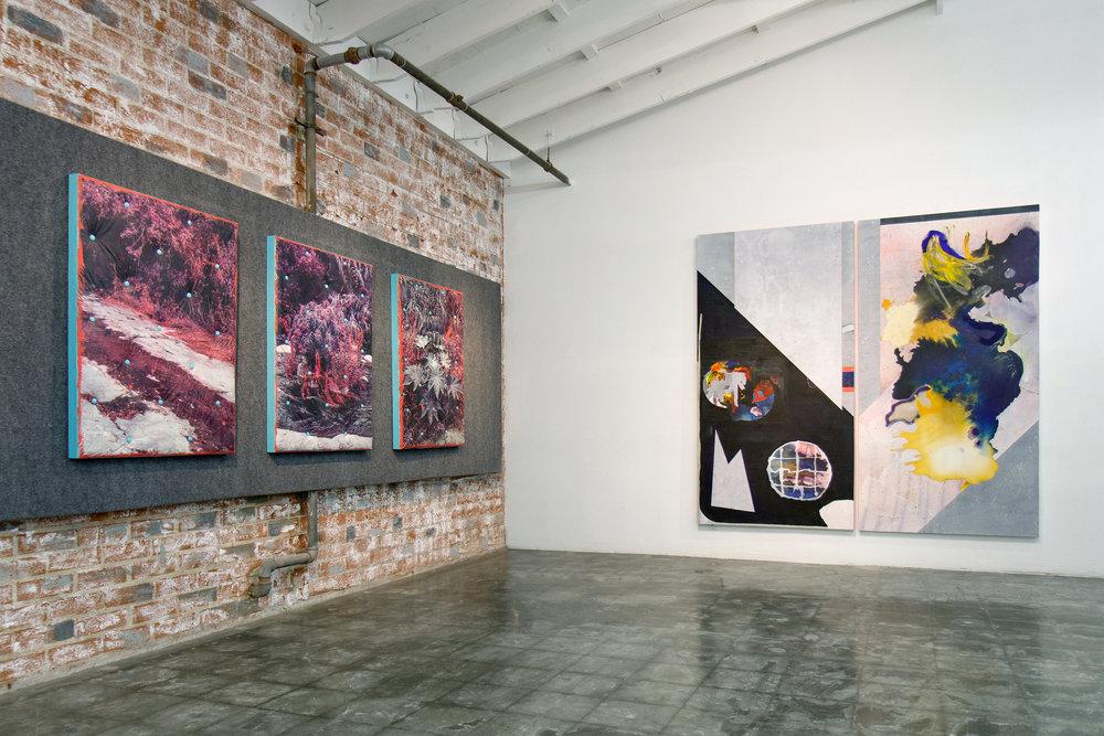(Installation view) Bull in the Dark  Common Room LA, Finishing Concepts