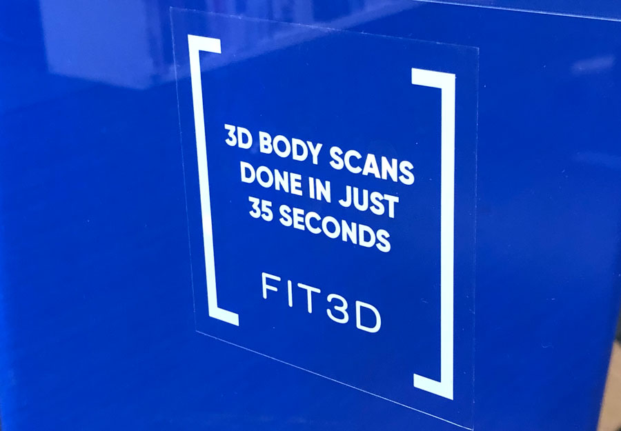 """Clear Stickers for Fit3D Promotion - Roughly 4x4"""""""