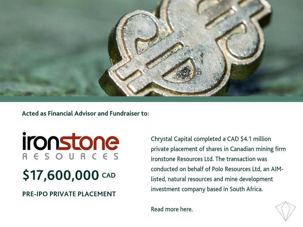 Ironstone Resources