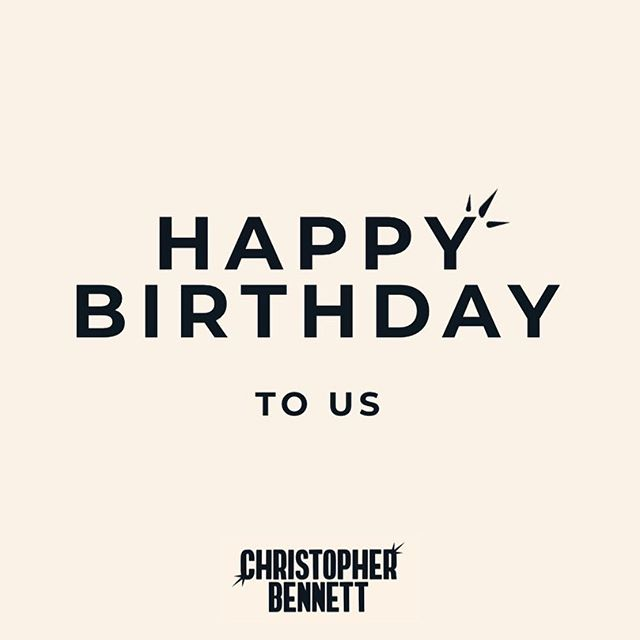 Today we celebrate 11 years of chopping hair, and we're pretty bloody chuffed! Massive thanks to you lot for supporting us, Team CB 🖤