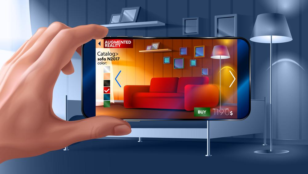 Augmented Reality Imae. Resonant article on augmented reality for ecommerce.