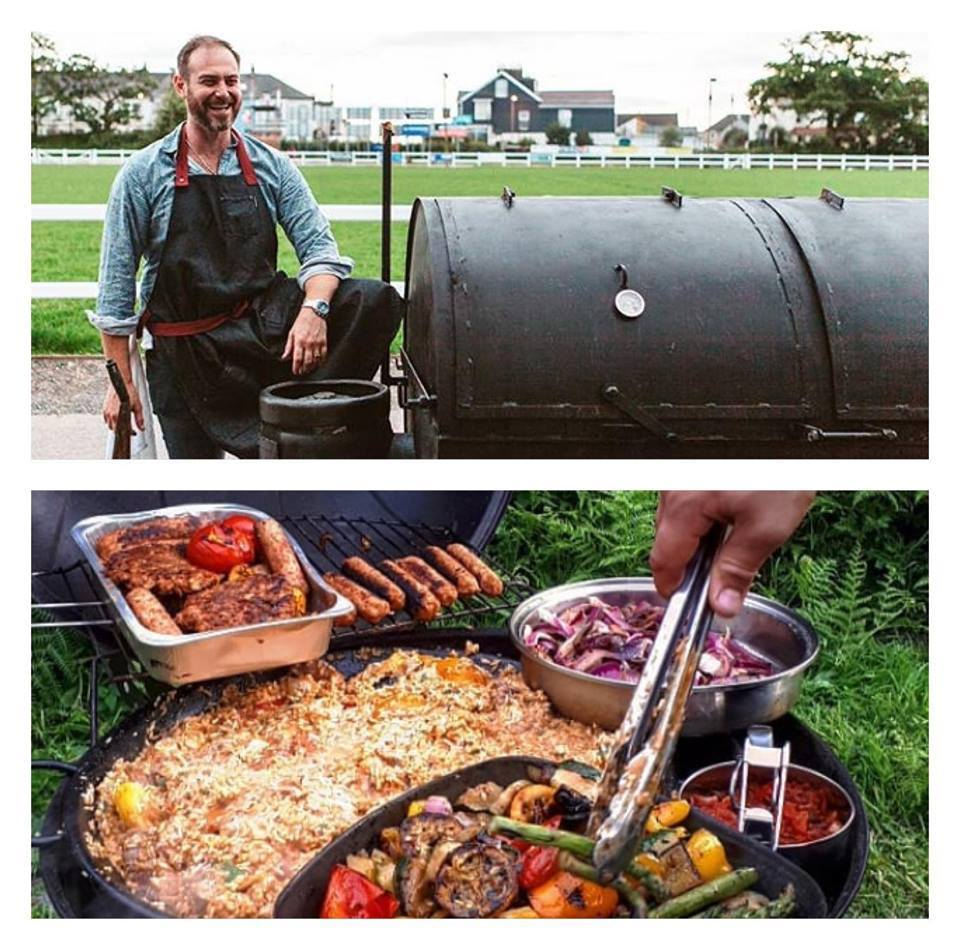Chef: Adam   The Aussie Smoker  will be providing the catering for weekend. Trust us when we say that words and photos cannot do justice to how tasty the food is. Adam's passion for food and putting a smile on peoples face is infectious.
