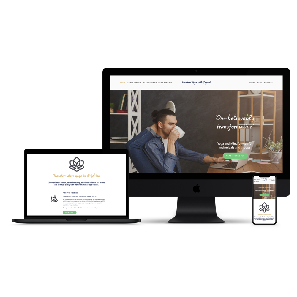 Leeds Freelance web designers - Yoga website.png