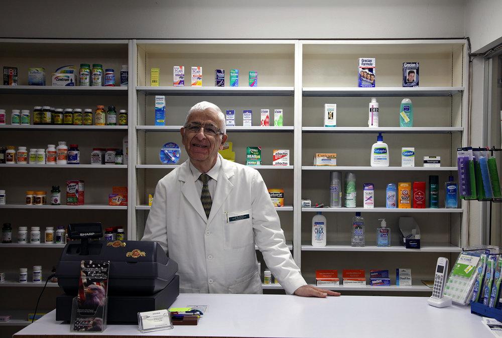 Diran Bahadourian, owner of Good Drugs Pharmacy   Photo Credit: Gilda Davidian