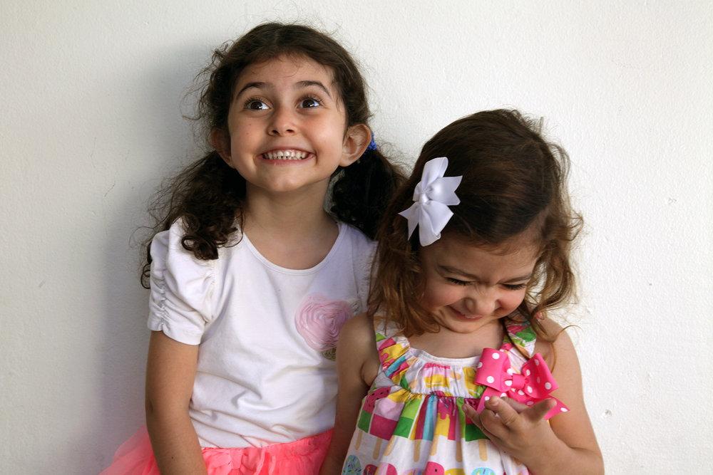 Zoey and Sanahin   Photo Credit: Gilda Davidian