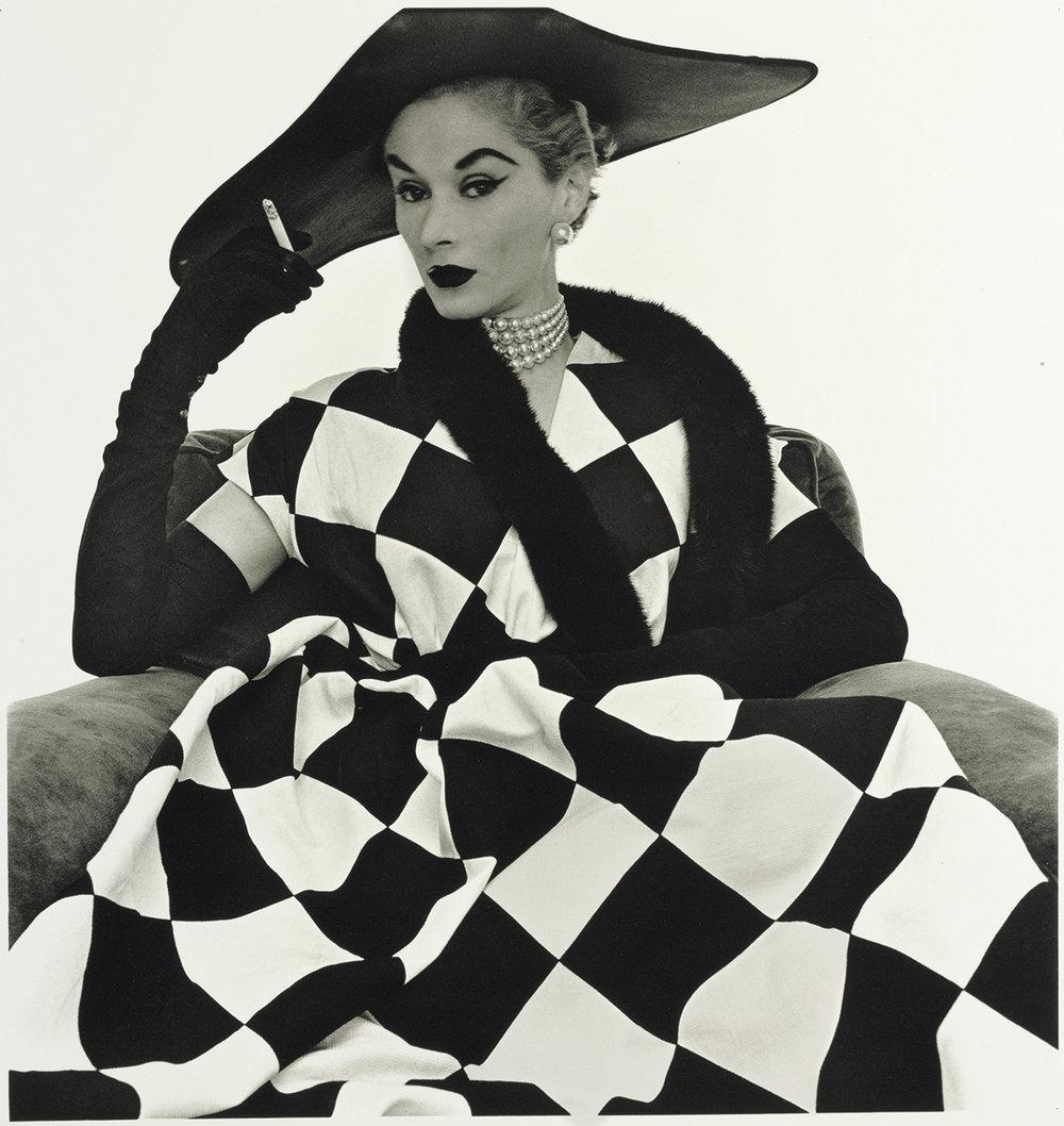 Harlequin Dress (Lisa Fonssagrives-Penn)