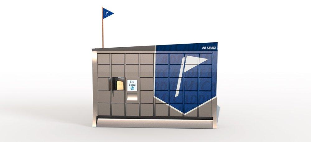 Food delivery locker