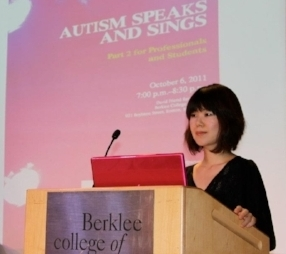 Presentation at Autism Speaks and Sings Symposium