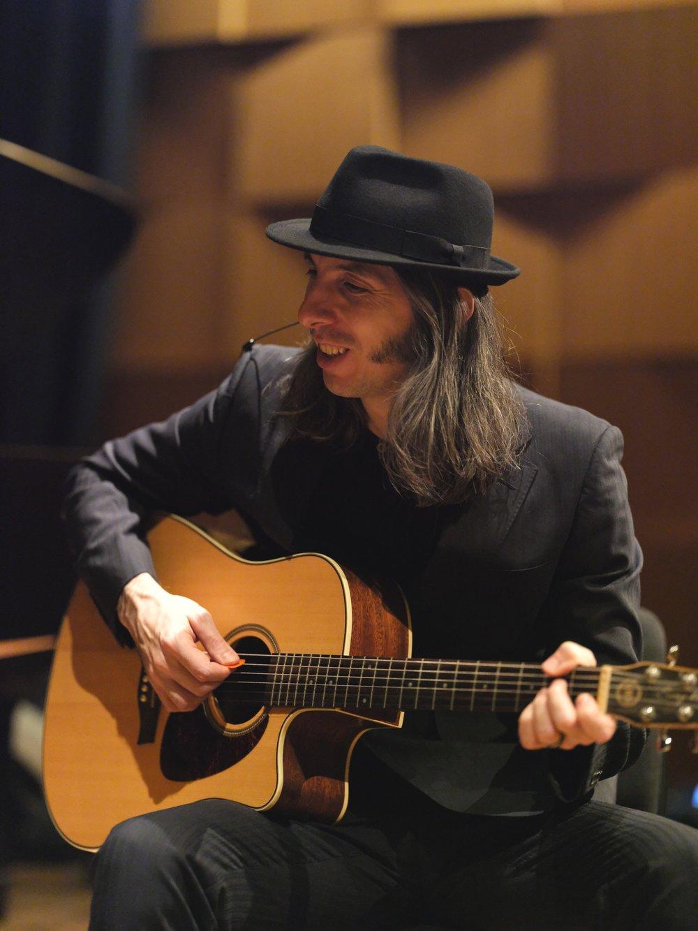 <p><strong>Sasha Markovic</strong>Co-founder, Director, Guitarist, Composer</p>