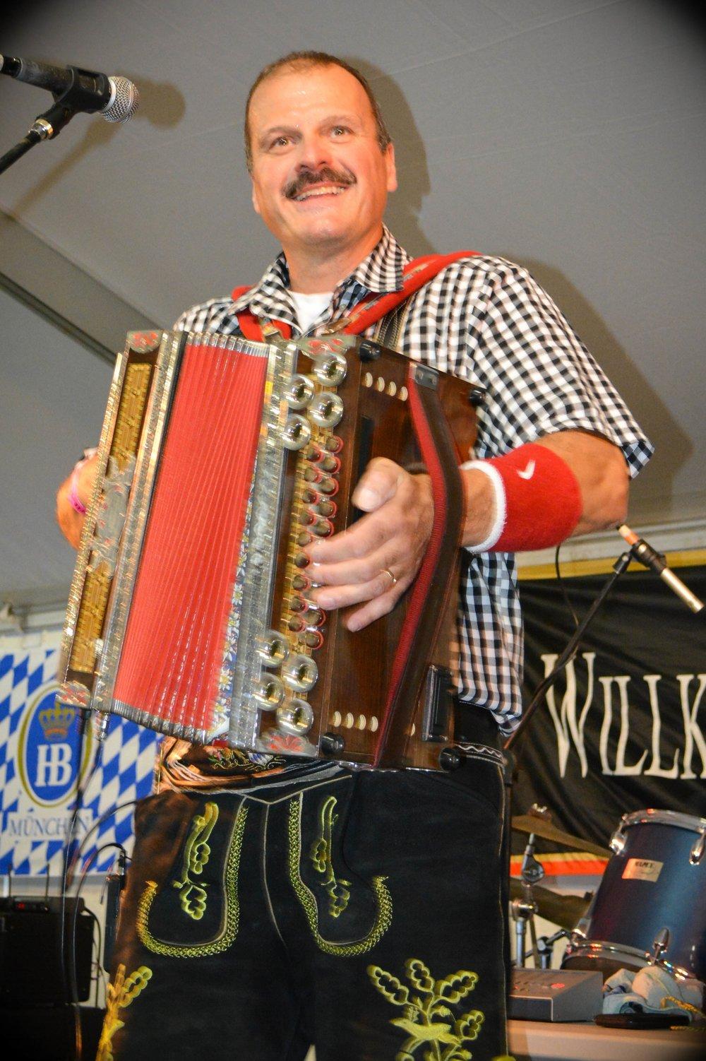 Happy Hans, Leavenworth Oktoberfest 2014