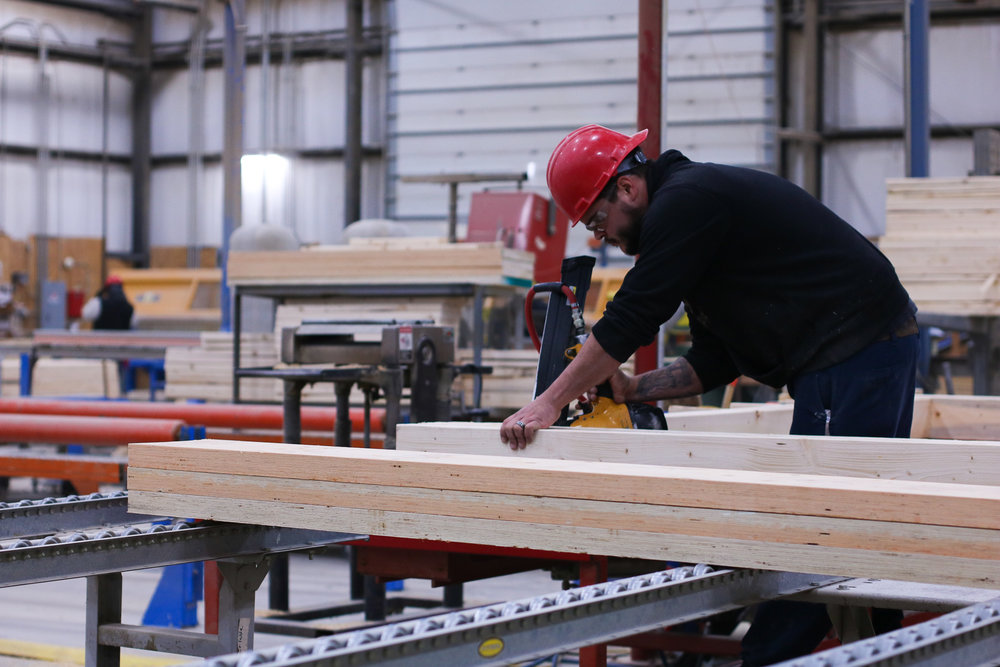 Inside the factory of Barden Building Products