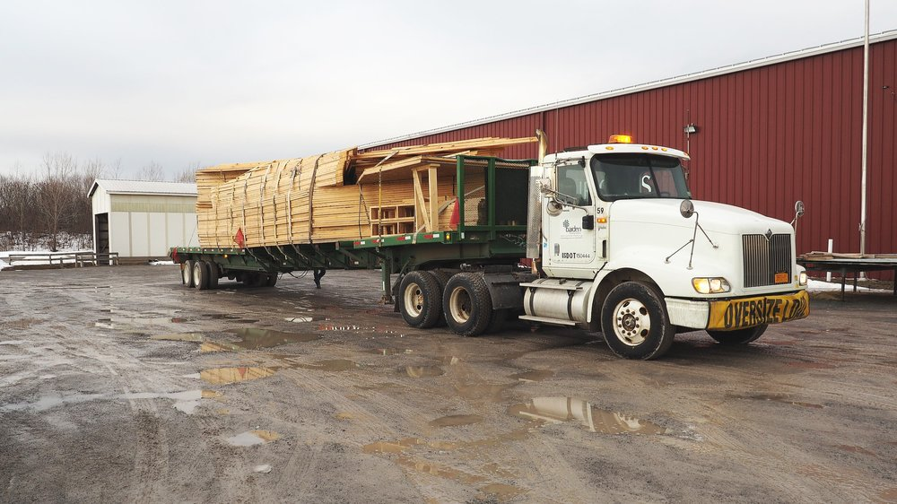 Barden Building Products Shipment