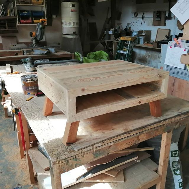 TV stand /coffee table #reclaimedwood #reclaimedtimber #furnituredesign