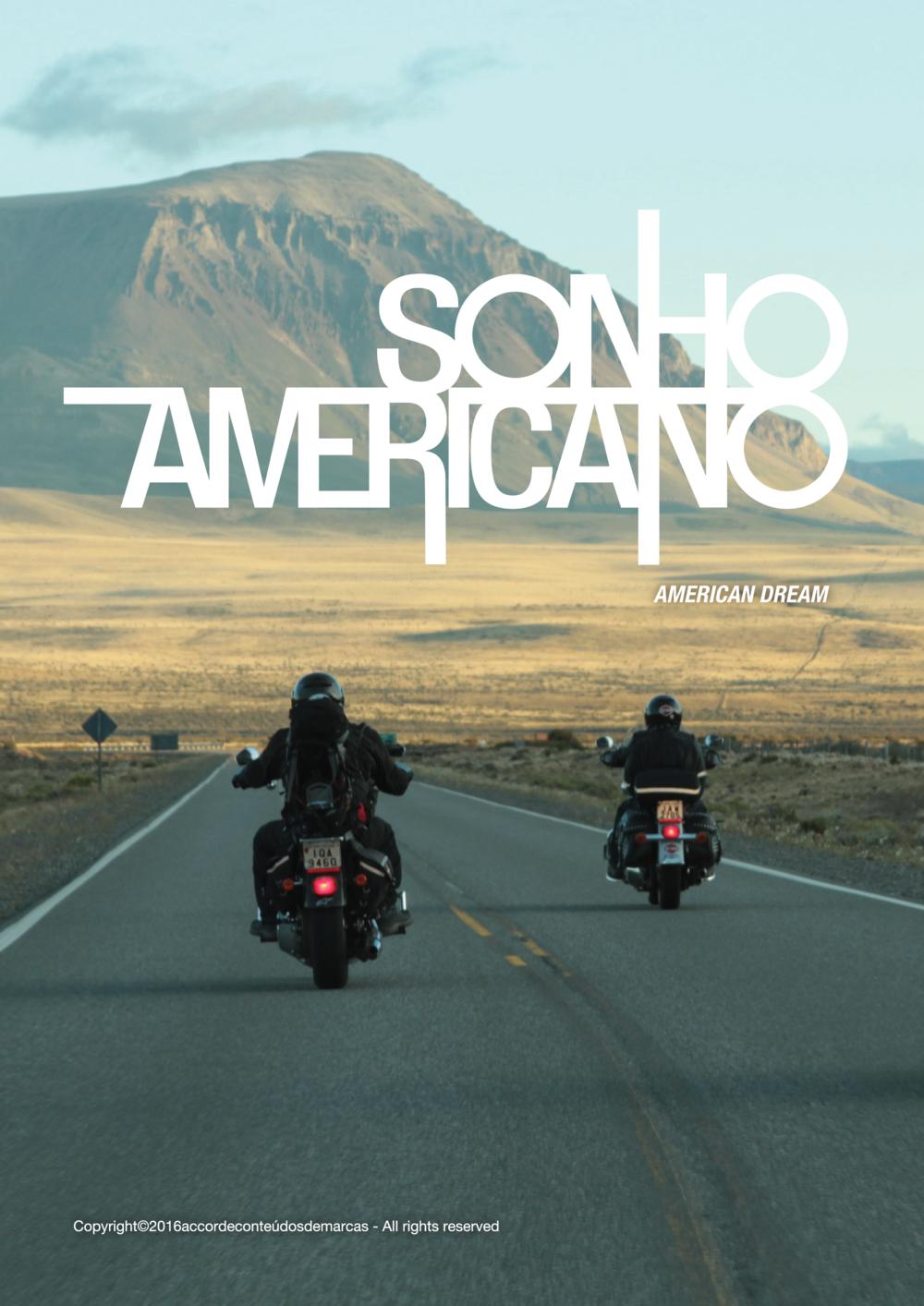 """Pôster da Série """"Sonho Americano""""."""