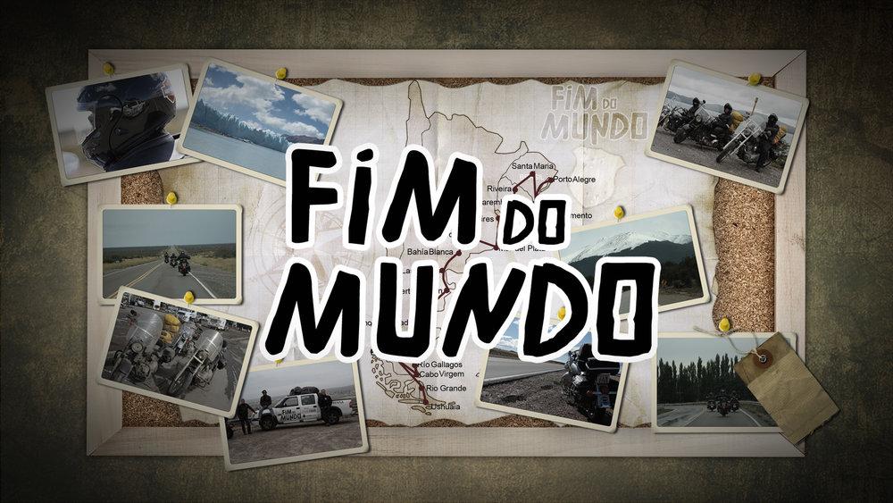"""Vinheta da Série """"Fim do Mundo""""."""