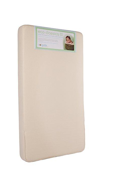 Colgate Eco Classica III Dual firmness Eco-Friendlier Crib mattress, Organic Cotton Cover - $169.99