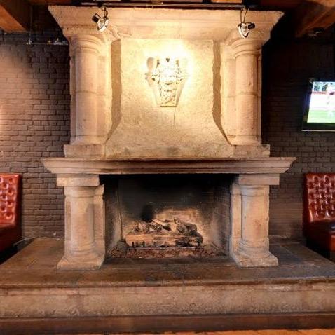 View Circular Fireplace