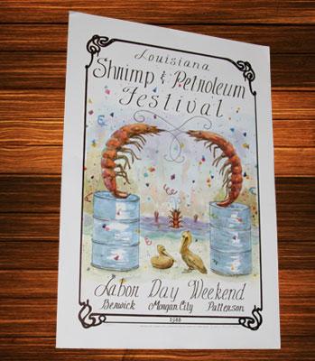 Posters — Louisiana Shrimp and Petroleum Festival