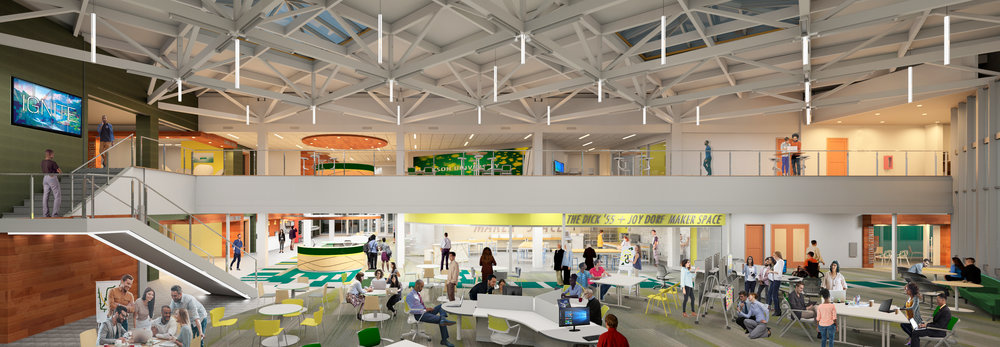 Andrew S. Schuler Educational Resource Center (ERC) Renovation for Innovation Space